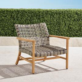 Isola Lounge Chair in Natural Finish