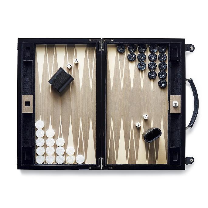 Ercolano Handmade Italian Backgammon Set | Frontgate