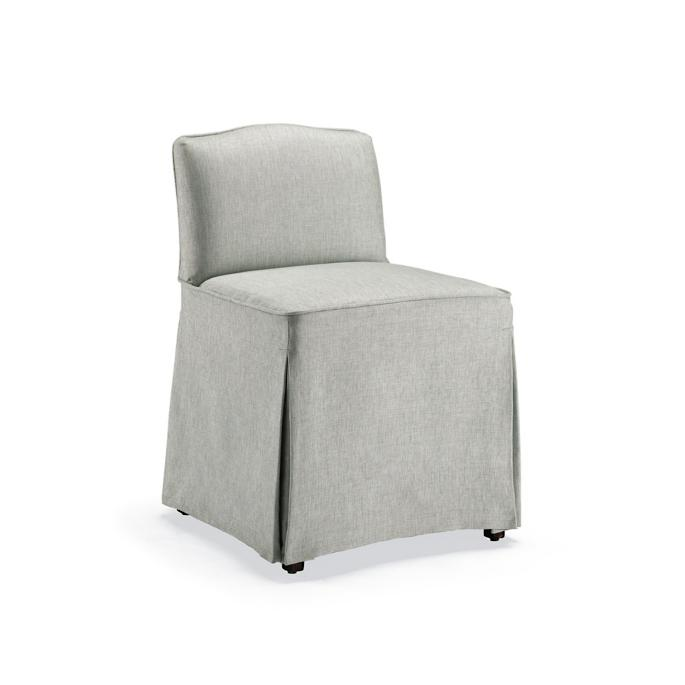Charlotte Slipcovered Vanity Chair Frontgate