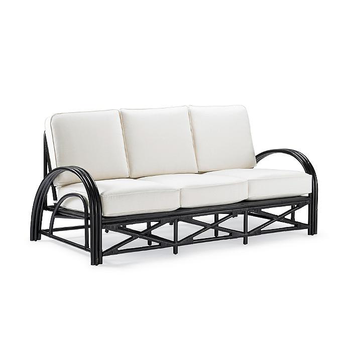 Lola Rattan Sofa With Cushion