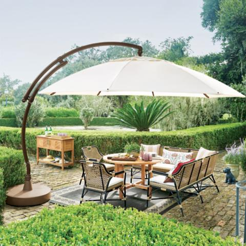 Gentil European Round Side Mount Umbrella