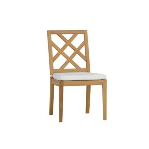 Haley Side Chair With Cushion By Summer Classics