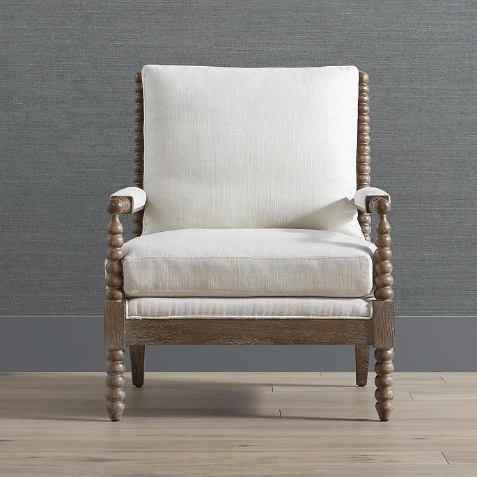 Miller Bobbin Accent Chair Frontgate