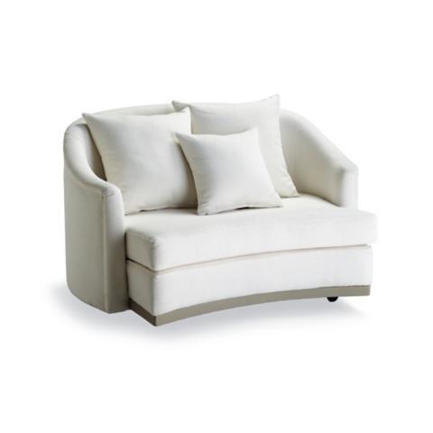 Kelsi Swivel Cuddle Chair By Martyn Lawrence Bullard