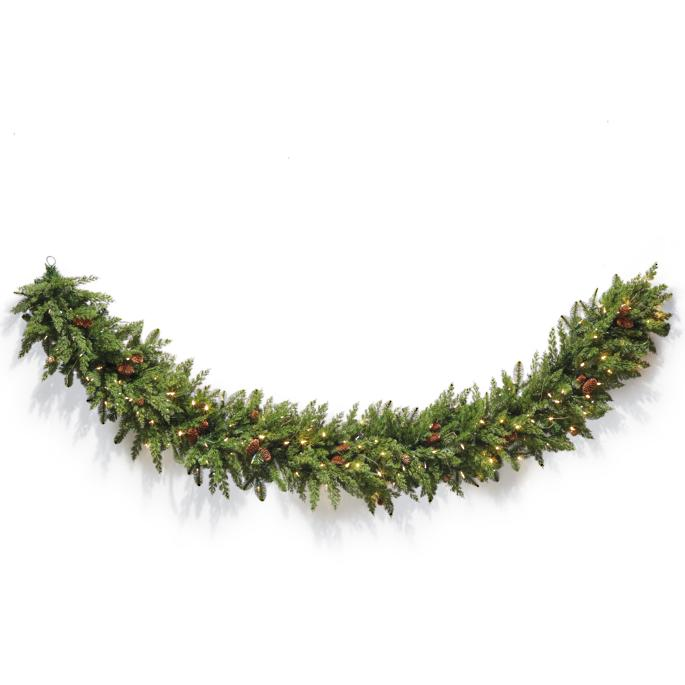 Majestic Cordless Garland by Frontgate