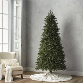 deluxe fraser estate quick light led 9 slim profile tree