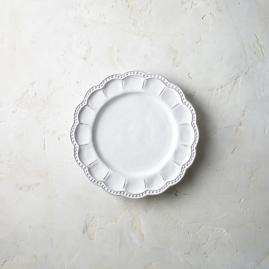 Arte Italica Bella Bianca Beaded Salad Plates, Set