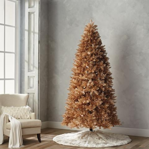 rose gold quick light led 9 full profile tree