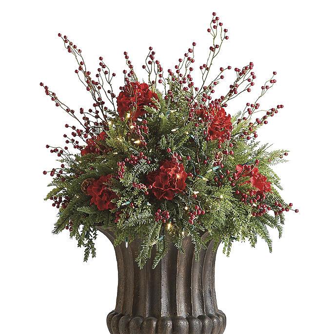 Red Berry Urn Filler Frontgate