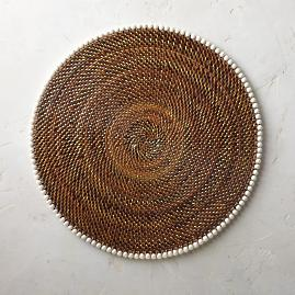 Calaisio Rattan Placemats, Set of Four