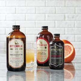 Bittermilk Old Fashioned Cocktail Mixers Gift Set