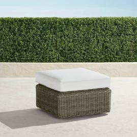 Peachy Hudson Outdoor Pouf Ottoman In Fog Frontgate Machost Co Dining Chair Design Ideas Machostcouk