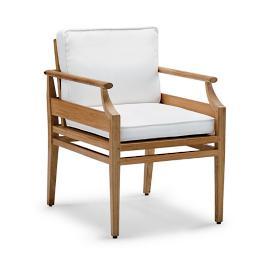Tambora Dining Arm Chair With Cushion