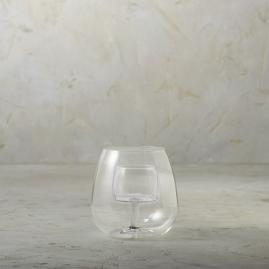 Aerating Stemless Wine Glasses, Set of Two