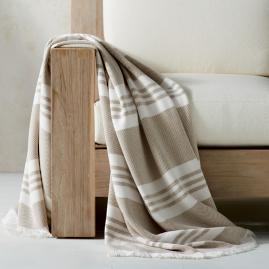Striped Indoor/Outdoor Throw