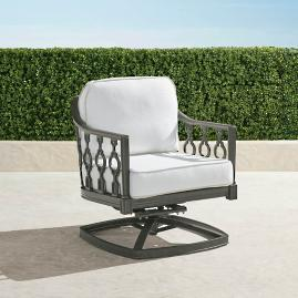 Avery Swivel Lounge Chair with Cushions