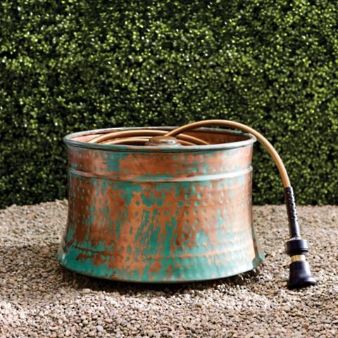 Superieur Patina Copper Hose Pot