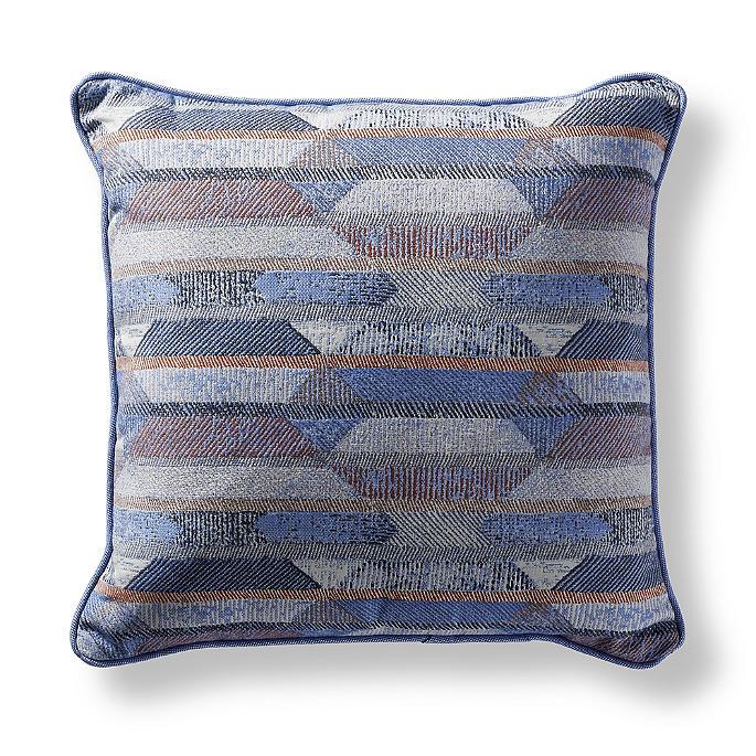 Etched Geo Capri Indooroutdoor Pillow Frontgate