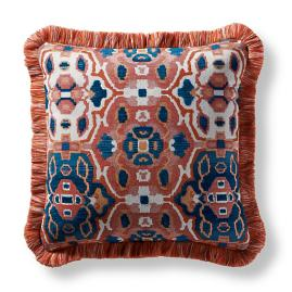 Khorassan Gem Spice Indoor/Outdoor Square Pillow