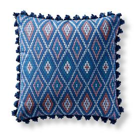 Mayan Diamond Mystic Square Pillow