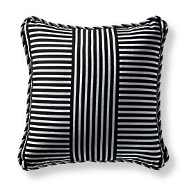 Mod Basket Onyx Square Pillow