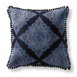 Sumitra Sapphire Square Pillow