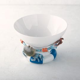 Beach Crab Serving Bowl