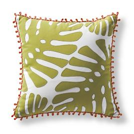 Regency Palm Gingko Outdoor Pillow
