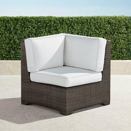 Palermo Petite Corner Chair in Bronze Finish