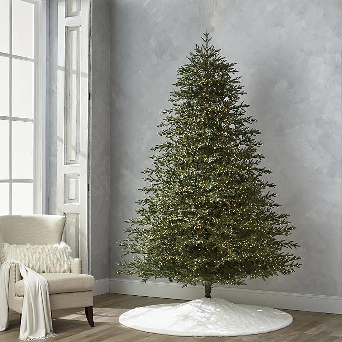 - Starry Night Microlight 9' Full Profile Tree Frontgate