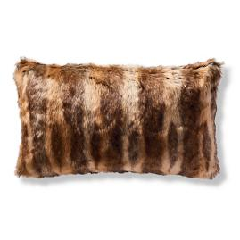 Luxury Faux Fur Lumbar Pillow Cover