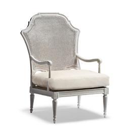 Awe Inspiring Aubrey Accent Chair Frontgate Creativecarmelina Interior Chair Design Creativecarmelinacom
