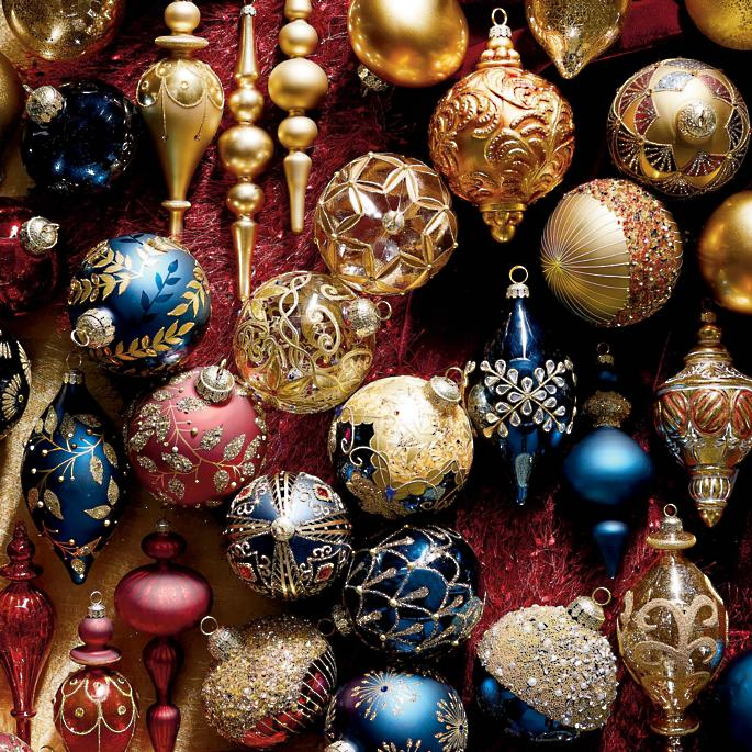 Roman Christmas Ornaments.60 Piece Roman Christmas Ornament Collection