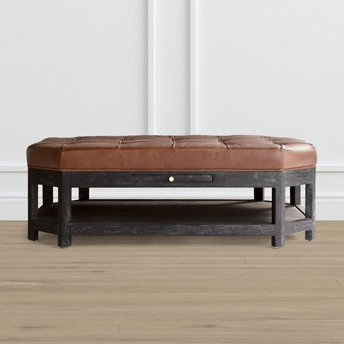 Prime Hafton Ottoman By Martyn Lawrence Bullard Gmtry Best Dining Table And Chair Ideas Images Gmtryco