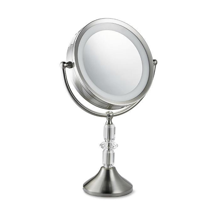 Vanity Mirror.Diana Crystal Led Vanity Mirror