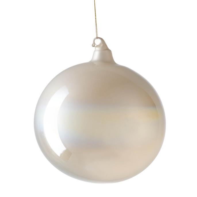 Large Whistler Bliss Pearlized Ornament by Frontgate