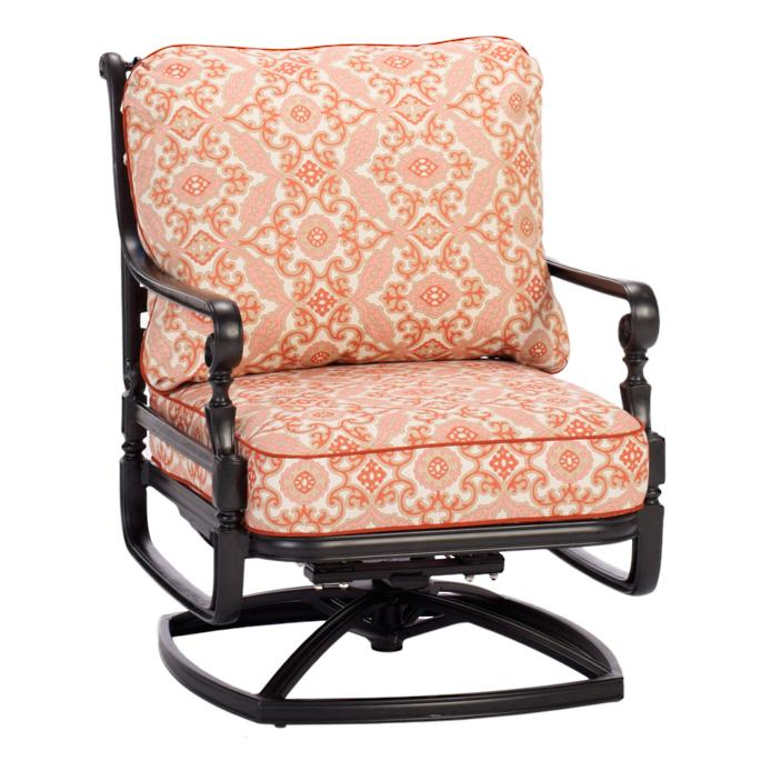 Excellent Carlisle Swivel Rocker Lounge Chair With Cushions Frontgate Uwap Interior Chair Design Uwaporg