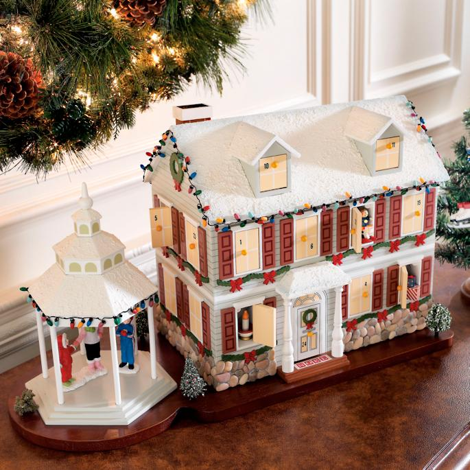 Christmas Advent House.Christmas Advent House Frontgate