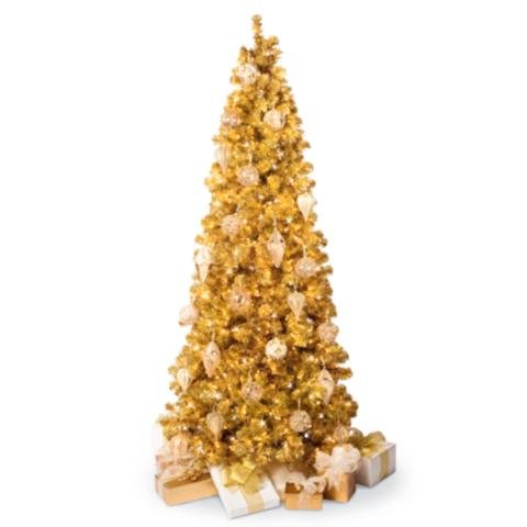 Champagne Gold Christmas Tree Frontgate