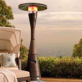 All-weather Woven Patio Heater