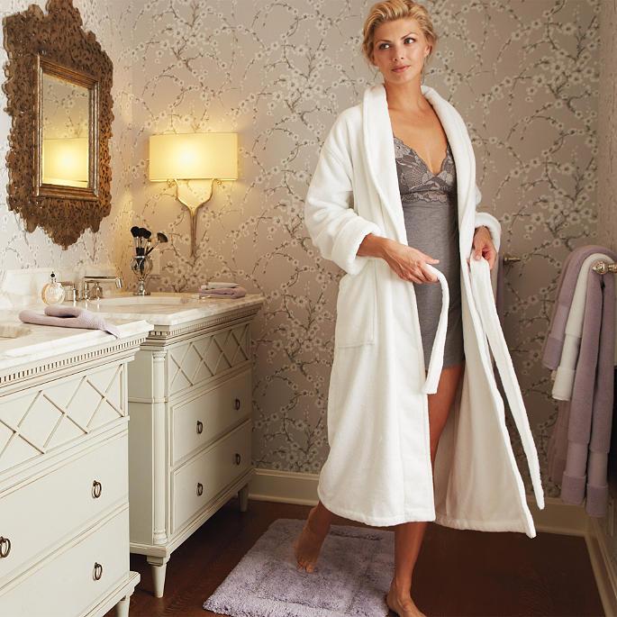 Women S Resort Robe Frontgate