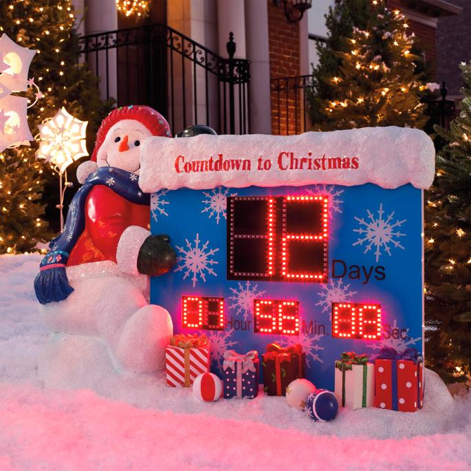 Countdown to Christmas Outdoor Display | Frontgate