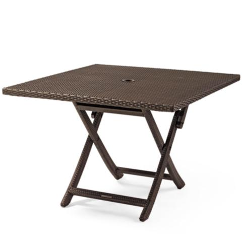 Charmant Cafe Square Folding Table