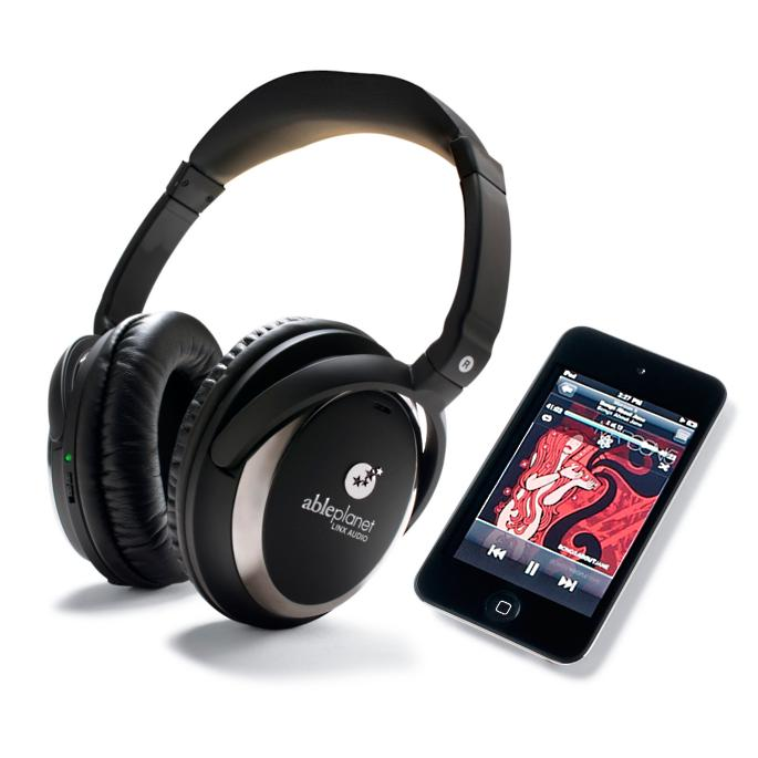 Noise Cancelling Headphones with FREE iPod Touch