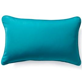 Outdoor Lumbar Pillow in Sunbrella® Aruba