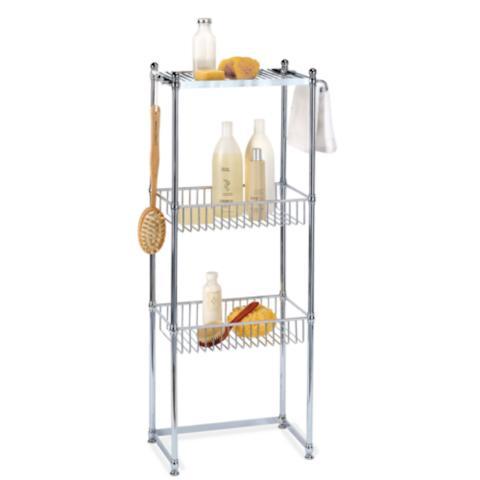 Rectangular Freestanding Shower Caddy