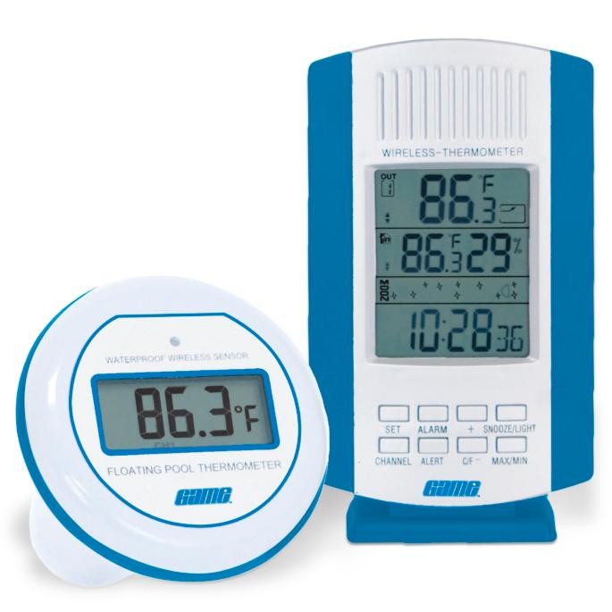 Wireless Digital Air And Water Thermometer Frontgate