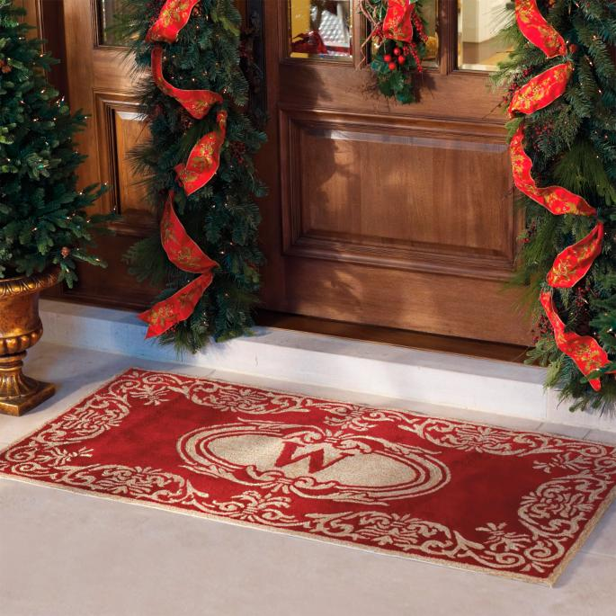 Monogrammed Indoor Outdoor Entry Mat Frontgate