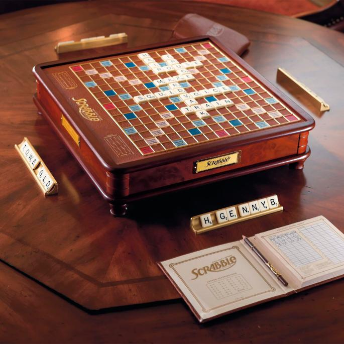Scrabble Frontgate Luxury Edition Board Game
