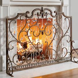 Louviere Fireplace Screen